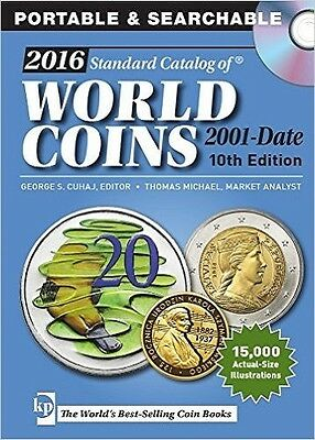 NEW! 2016 Standard Catalog of World Coins 2001-Date by George Cuhaj [CD]