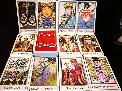 Sealed & Brand New! New Medieval Palladini Tarot Card Oracle Modern Art