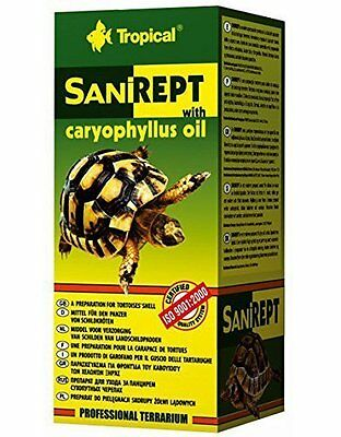 Tropical Sanirept 15ml- a preparation with caryophyllus oil for tortoises' shell