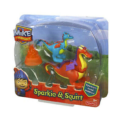 Fisher Price Mike The Knight Sparkie & Squirt Figures Y8368 *new*