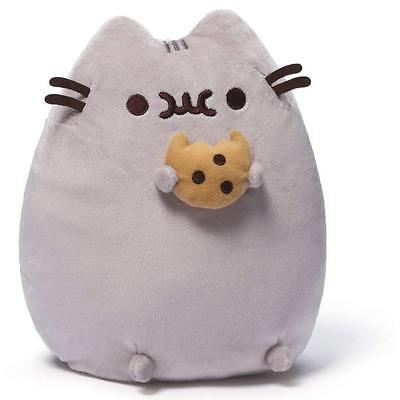 Pusheen Plush Toy with Cookie