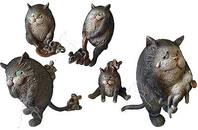 Bella Collection Ornaments - Cat & Mouse