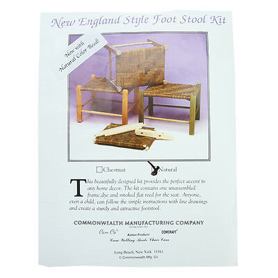 New England Footstool Kit - Natural