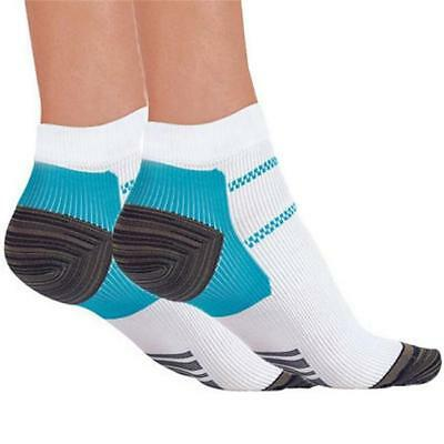 2Pcs New Compression Plantar Fasciitis Sleeve Socks Foot Heel Arch Pain Relief B