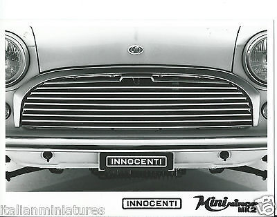 Innocenti Austin Morris Mini Minor MK2 Original Press Photograph