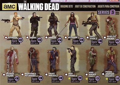 The Walking Dead - McFarlane Blind Bag Serie 3 Set