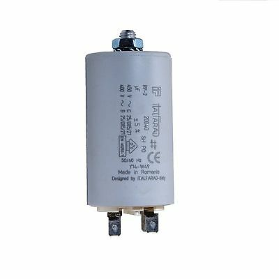 Motor Running Capacitor - 20 Mfd - 450V Run Capacitor, Stud Type With Cover