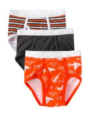 Gymboree Boys Underwear 2T-3T Safari Airplane 3-pk Briefs Nwt