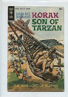 Old 1970 No.34 Korak Son of Tarzan Comic Book Gold Key