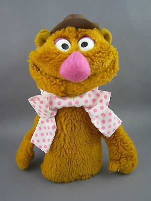 Fozzie Bear Hand Puppet # 861 Muppets Fisher Price Vintage