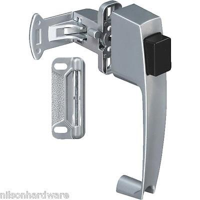 15 Pk Silver Finish Wood Or Metal Screen & Storm Door Push-button Latch N178368