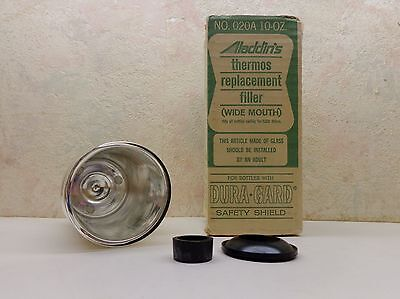 VINTAGE  ALADDIN'S THERMOS REPLACEMENT FILLER WIDE MOUTH # 020A 10 Oz. NIB