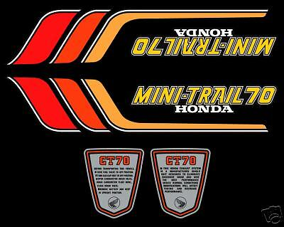 1978 Honda CT70 decal set