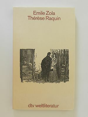 Emile Zola Therese Raquin dtv Weltliteratur