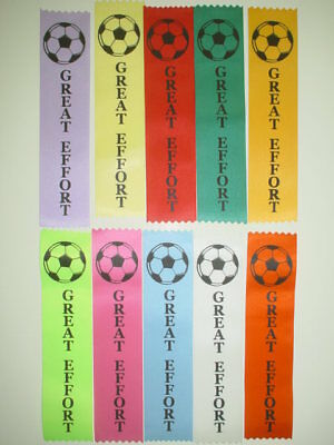 Soccer Award Ribbons,kids Funday, Participation