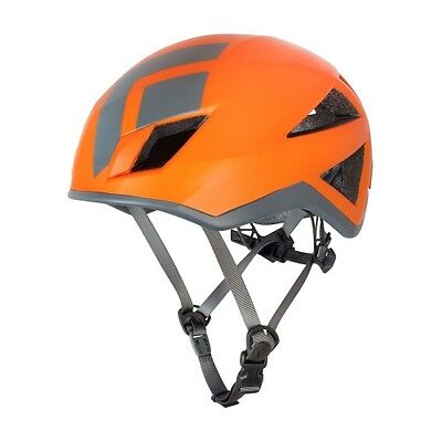 Black Diamond Vector ORANGE Outdoor Kletterhelm Gr. S-M & M-L NEU