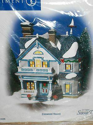 DEPT 56 SNOW VILLAGE ELMWOOD HOUSE NIB *Read*