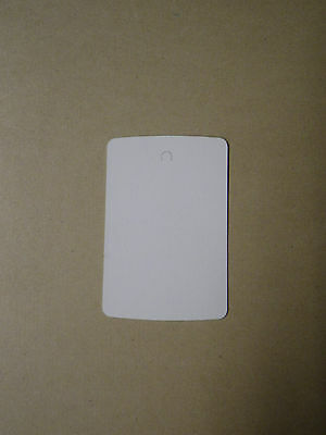 1000 PRICE TAGS SMALL Clothing Tag Gun BLANK White Pin Ticketer 1 1/4 x 1 3/4