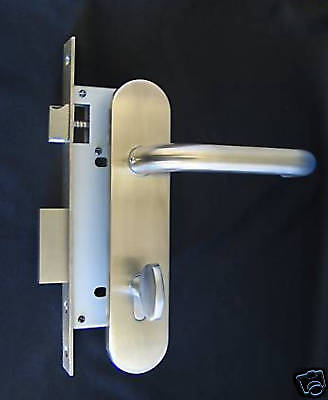 Institution by FPL - Privacy Mortise Lockset in Stainless Steel