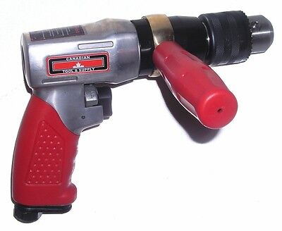 NEW Professional Duty 1/2-Inch Reversible Air Drill pneumatic tool