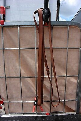34-46 New Heythrop English leather martingale full size Newmarket made Engand