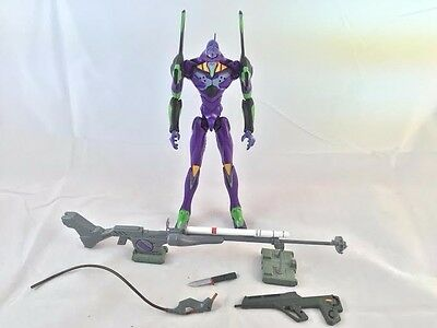 Evangelion Sega Eva 01 anime WITH ACCESSORIES PURPLE AND GREEN ACTION FIGURE