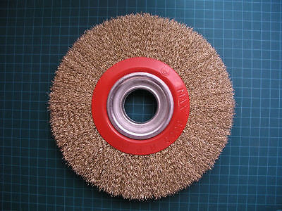 "(L0T of 2) - 7"" Wire Wheel Brush 175mm  Bench Grinder"