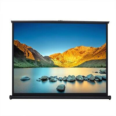 """50"""" 4:3 Portable Tabletop Projection Screen TradeShow Meeting Handheld Projector"""