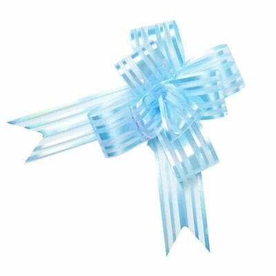 Small Butterfly Pull Bow-Light Blue X 10
