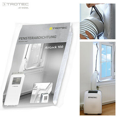 TROTEC AirLock 100 HotAirStop window seal for air conditioners, tumble dryer