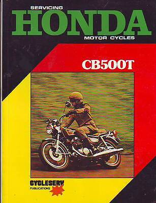 Honda  Cb500 Cb500T Service Workshop Manual New 1975