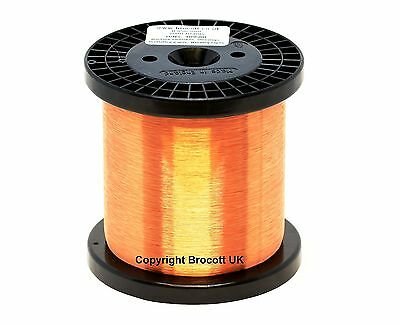 500 Gram Spool 33AWG ENAMELLED COPPER WINDING WIRE COIL WIRE MAGNET WIRE
