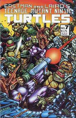 TEENAGE MUTANT NINJA TURTLES #7 1st PRINT VF/ NM MIRAGE STUDIOS bin16-775