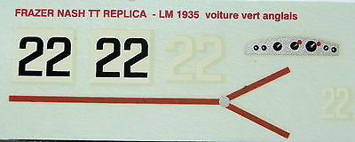DECALS KIT 1//43 LE MANS LOGHI  DECALS N.19 GENERICA DECALCOMANIA DECAL