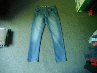 "George Straight Jeans Waist 28"" Leg 28"" Faded Dark Blue Boys 12/13 Yrs Jeans"