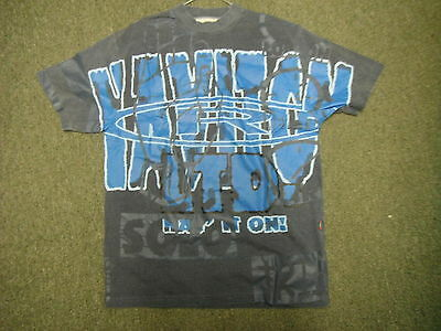 Vintage Haviton Medium Mens Blue Casual Dress T Shirt