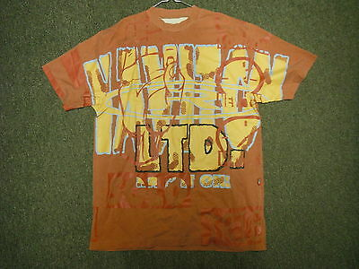 Vintage Haviton Medium Mens Brown Casual Dress T Shirt