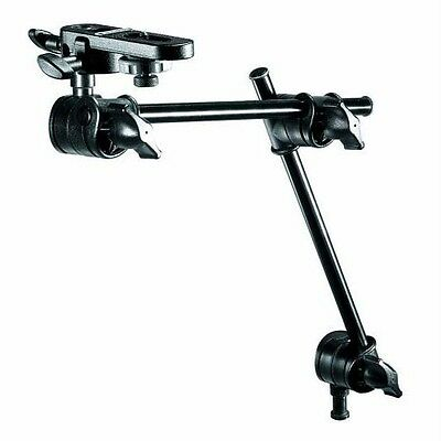Manfrotto 196B-2-Section Single Articulated Arm w/Camera Bracket (143BKT)