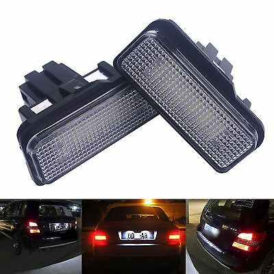 Mercedes LED Licence Number Plate Light Canbus For S203 W211 S211 W219 C219 R171