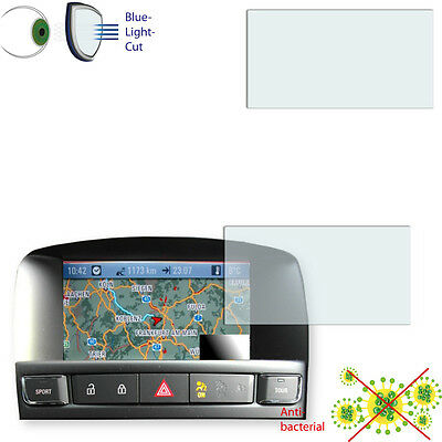2x DISAGU ClearScreen screen protection film for Opel DVD 800 Navi antibacterial