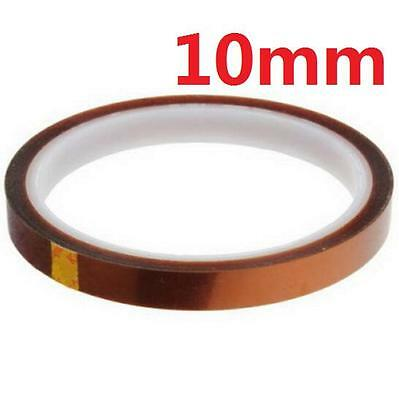 DZ932 10mm 100ft Kapton Tape BGA High Temperature Heat Resistant Polyimide Gold