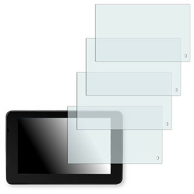 4x Golebo Crystal screen protector for Garmin nuvi 3590LMT
