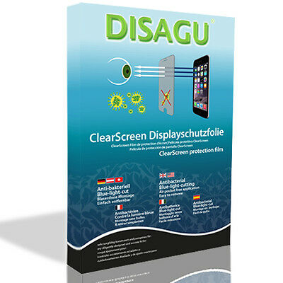 2x DISAGU ClearScreen screen protection film for Garmin nuvi 1450T antibacterial