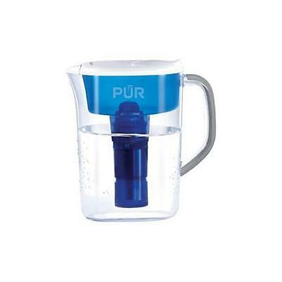 Kaz Inc Ppt700w Pur Ultimate 7 Cup Pitcher & Water Filter White/Blue