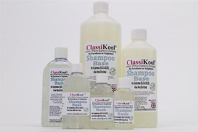 Classikool Organic Aloe-Enriched Fragrance Sulfate SLS Paraben-Free Shampoo Base