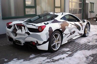 Qwrap Camouflage Vinyl Car Wrap Various Pattern and Sizes AIR BUBBLE FREE