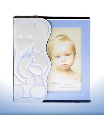 Baby Photo Album - Blue Elephant Design  Baby Boy Gift Idea NEW  18175