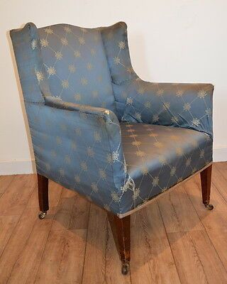Original Edwardian Armchair c1900 Antique Chair