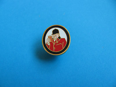 Tetleys Huntsman's Ale Pin Badge. VGC. Unused. Hard Enamel. Tetley's