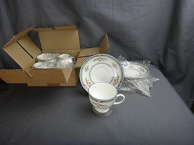 Wedgwood HAMPSHIRE Set of 4 Cups & Saucers ~NEW IN BOX ~